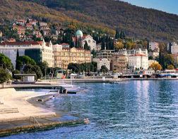 The resort Opatija