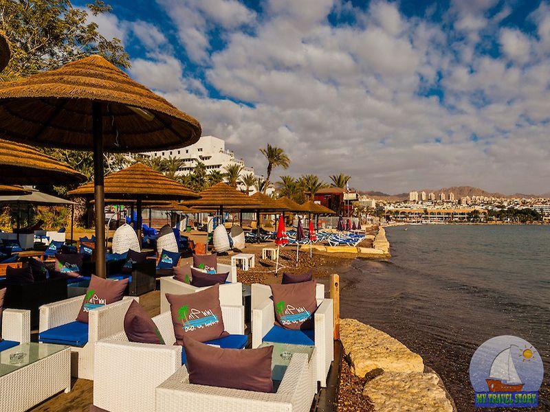 The resort of Eilat in Israel