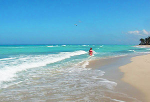 The resort of Varadero, Cuba