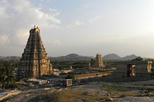 The ruins of Hampi, India