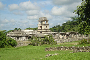 The ruins of Palenque, Mexico