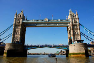 Tower Bridge - London attraction