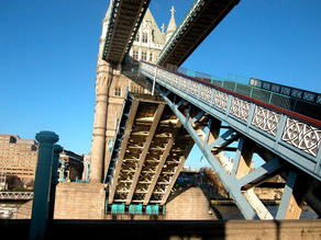 Tower Bridge - the main attraction of London