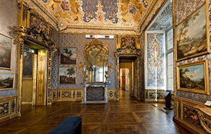 Turin. Photo of the palace of Madam