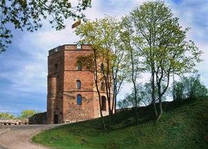 Vilnius. Gediminas Castle Attraction