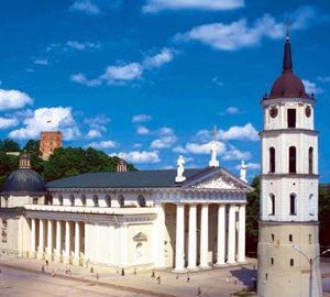 Vilnius. Landmark Cathedral