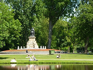 Vondelpark – the largest park of Amsterdam