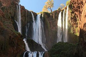 Waterfall Ouzoud, Morocco