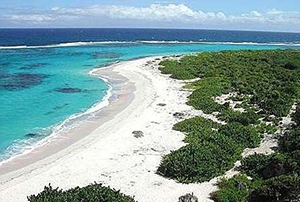 White Sands island of Antigua