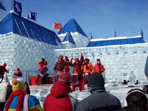 Winter Carnival in Quebec