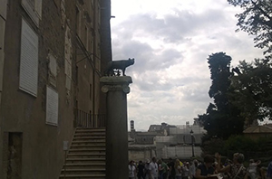 Wolf statue, Rome, Italy