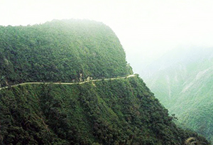 Yungas Road death, Bolivia