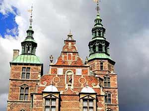 Zamok Rozenborg. Copenhagen