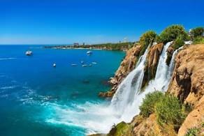 antaliya waterfall