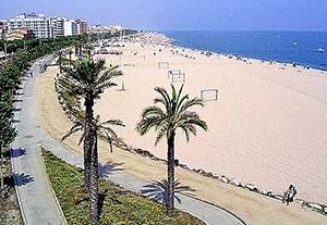 beach Costa del Maresme