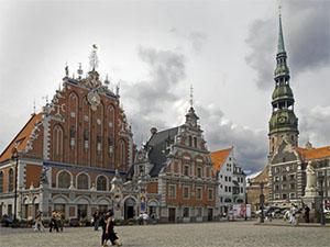 central square - Riga