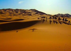 hot deserts of Morokko