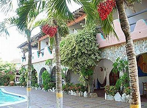 hotel on the island