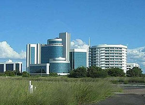 modern buildings Gaborone