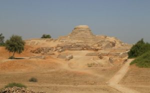 ruins of the city of Mohenjo-Daro