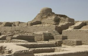 ruins of the city of Mohenjo-Daro, Pakistan