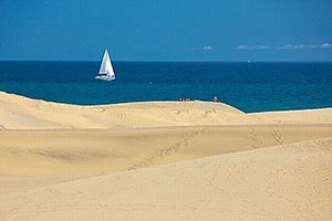 the beaches of the Canary Islands